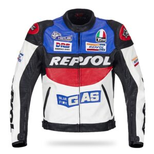 repsol-duhan-blue-and-white-leather-motorcycle-jacket