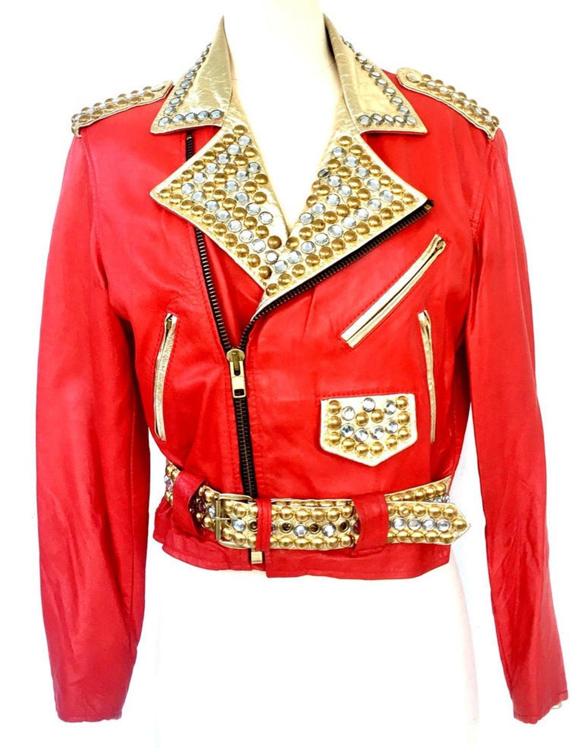 studded-crystal-embellished-vintage-leather-jacket