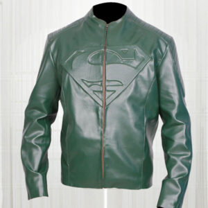 superman-smallville-green-leather-jacket