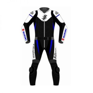 suzuki-hayabusa-black-and-white-motorcycle-leather-suit