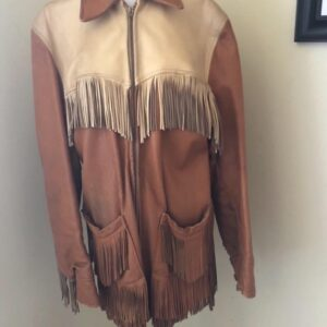 vintage-1940s-two-tone-tan-leather-fringe-jacket