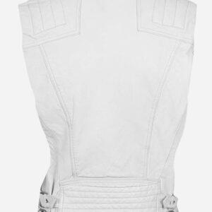 white-leather-biker-vest
