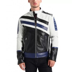 Custom-Black-And-blue-Motorcycle-Leather-Racing-Jacket