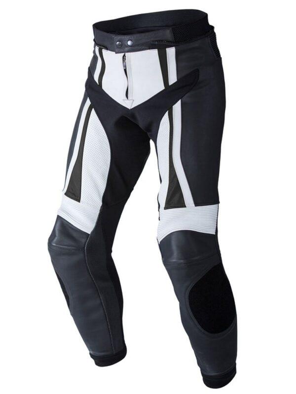 custom-black-white-motorcycle-leather-pant