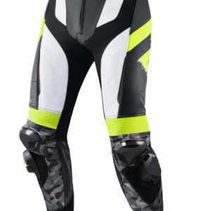 custom-motorcycle-black-white-and-yellow-leather-racing-pant