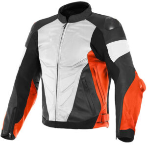 custom-whiteblack-and-orange-motorcycle-leather-jacket