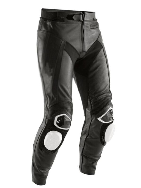 custom-man-black-and-white-motorcycle-leather-racing-jacket