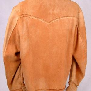 handmade-vintage-tan-leather-fringe-jacket