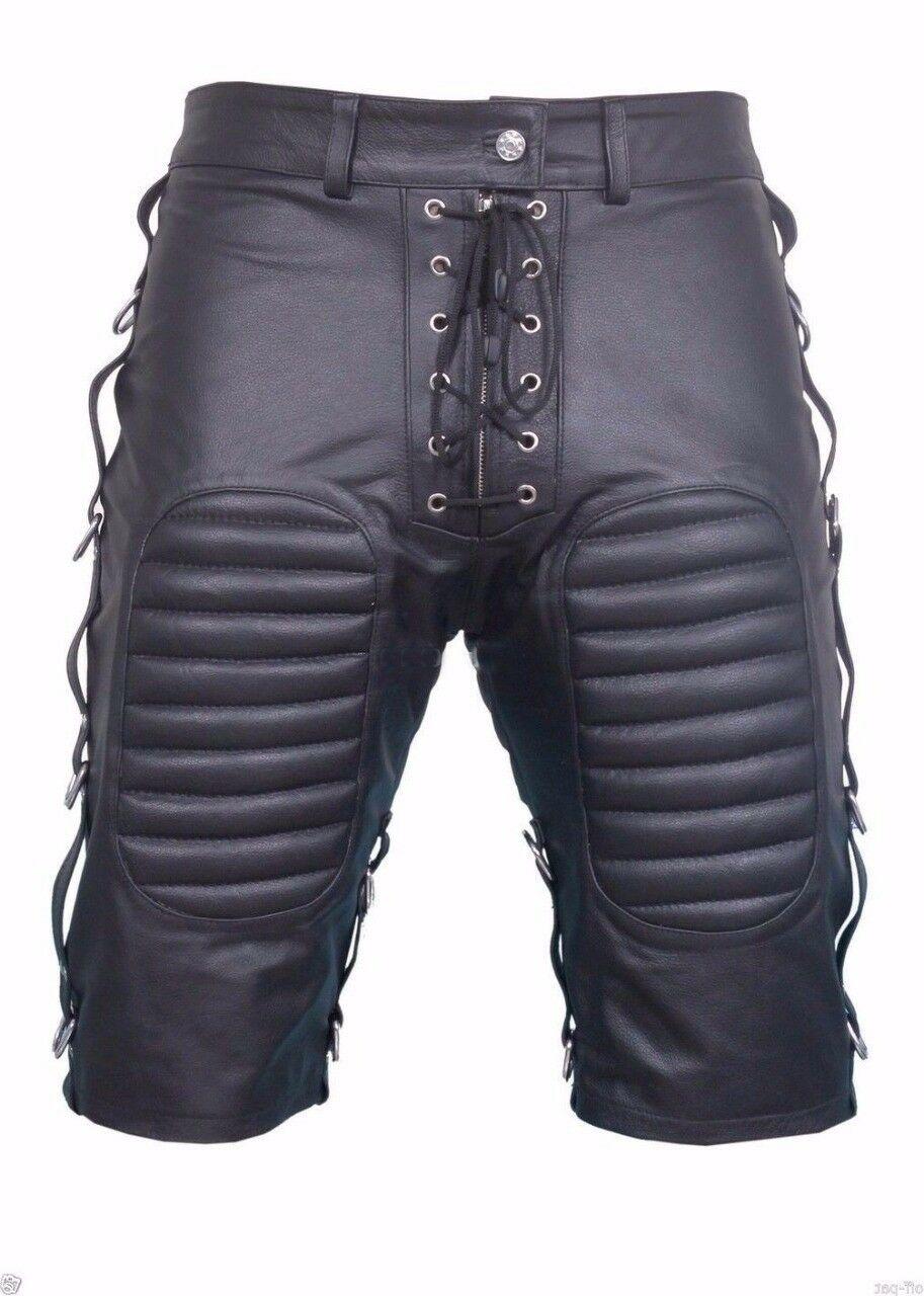 men-bondage-real-grey-leather-shorts