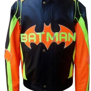 men-fashion-batman-real-leather-jacket-multicolored