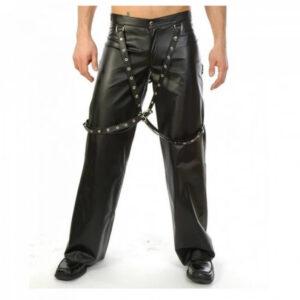 men-gothic-leather-biker-buckle-bondage-pant