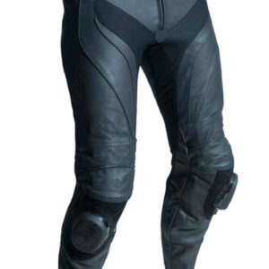 motorcycle-black-leather-racing-pants
