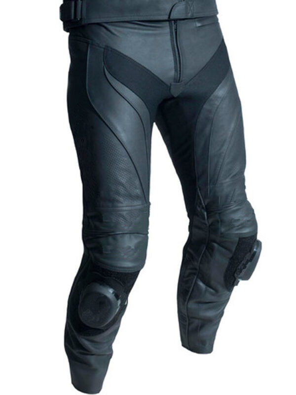 motorcycle-black-leather-racing-pants
