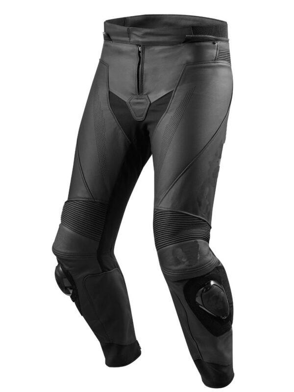 Motorcycle New Black Leather Racing Pants