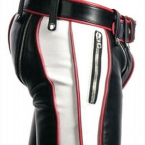 real-black-and-white-leather-heavy-duty-bondage-short