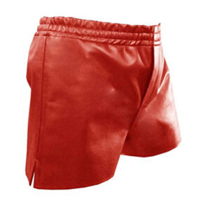 red-sheep-lamb-leather-shorts