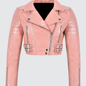 white-pearl-effect-pink-cropped-bikers-fashion-jacket