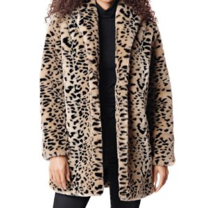 Cheetah Classic Faux Fur Coat