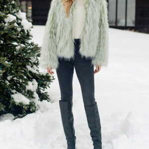 pistachio-fox-faux-fur-jacket