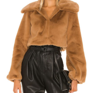 light-walnut-cropped-faux-fur-jacket