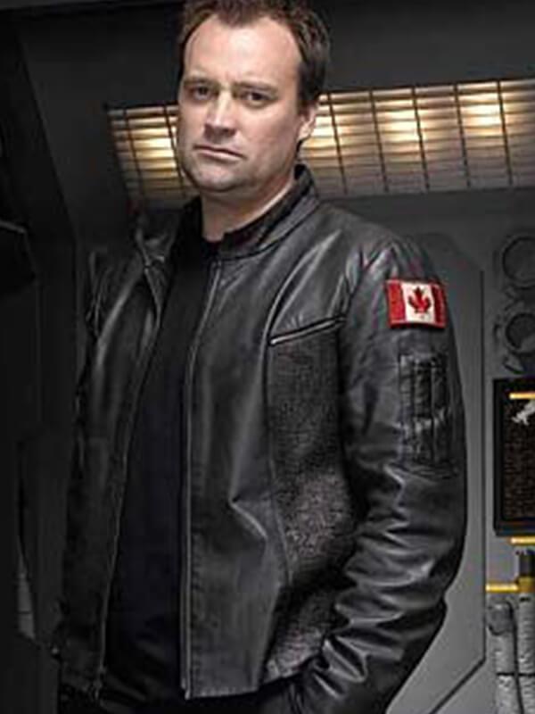 Stargate Atlantis David Hewlett Canadian Flag