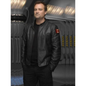 Stargate Atlantis David Hewlett Canadian Flag