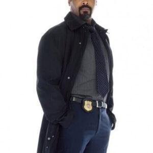 The Flash Joe West Black Coat