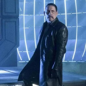 Danny Trejo The Flash Breacher Leather Coat