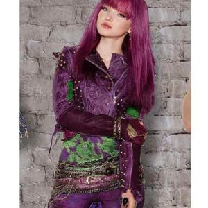 Disney Descendants 2 Mal Studded Leather Jacket