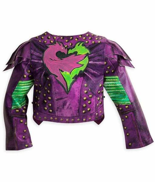 Disney Descendants 2 Mal Studded Leather Jacket