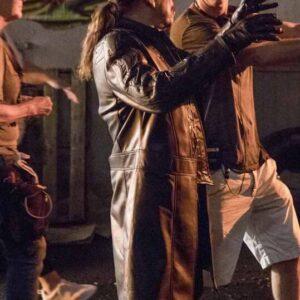 Danny Trejo The Flash Breacher Leather Coat