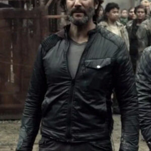 Marcus Kane The 100 Black Jacket