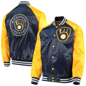 Milwaukee Brewers The Lead Off Hitter Jacket