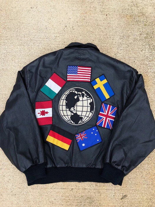 patches-of-world-flag-90s-mens-leather-jacket