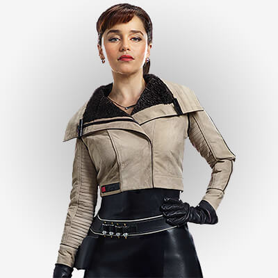 Solo A Star Wars Story Qi'ra Leather Jacket