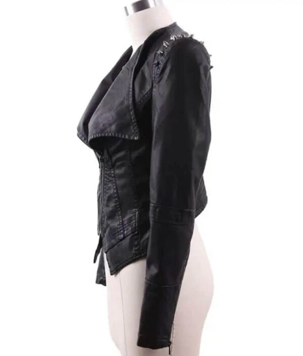 RHOP S05 Wendy Osefo Studded Leather Jacket