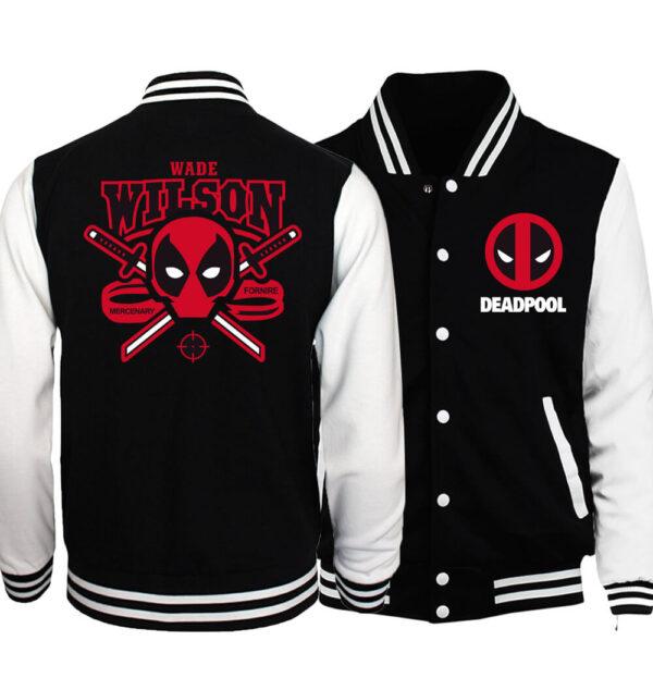 Wade Wilson Deadpool Varsity Jacket