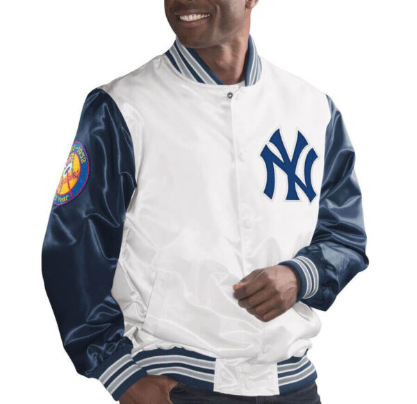 White New York Yankees The Legend Jacket