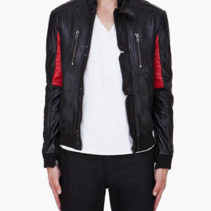KID CUDI CHAMP Leather Jacket