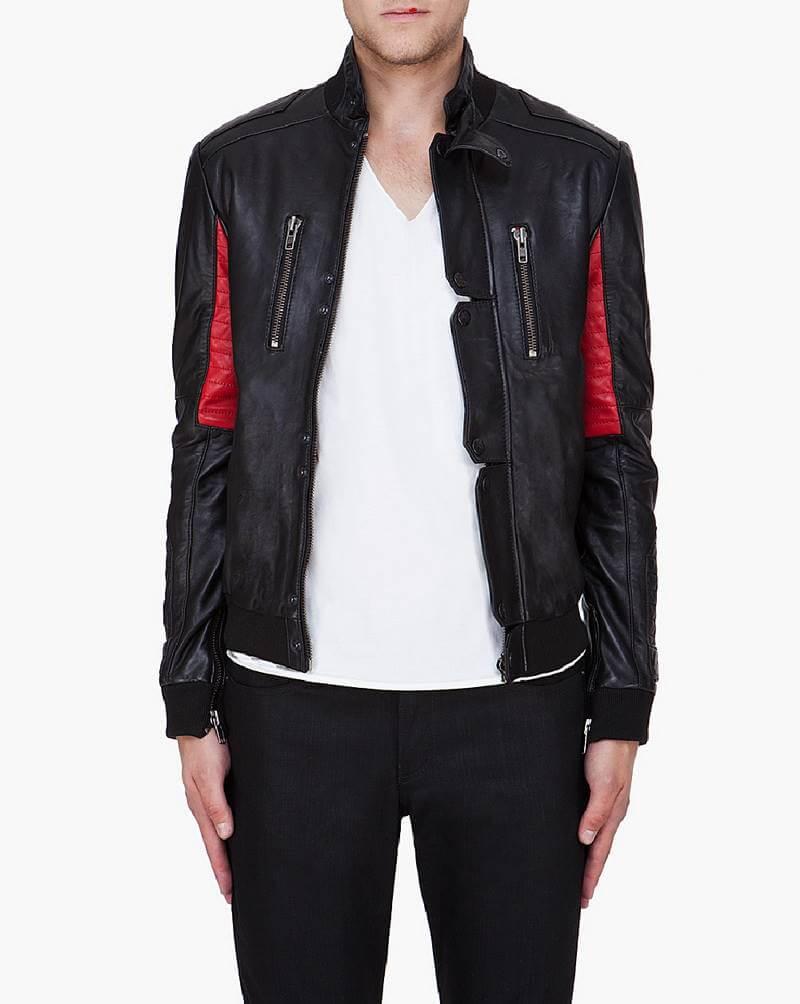 KID CUDI CHAMP Leather Jacket