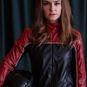 Derry Girls Ms De Brún Leather Jacket