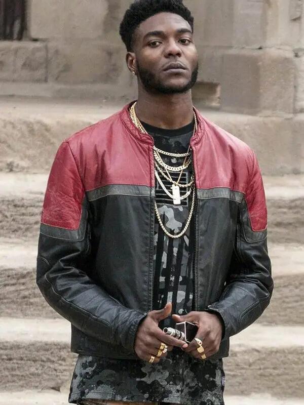 The Chi Reg Leather Jacket