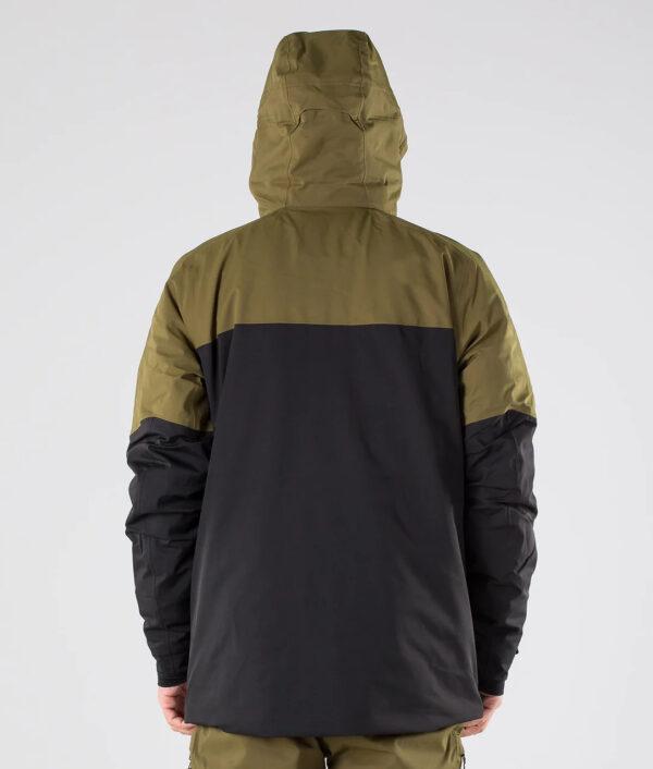 Men's Chakal Jacket Military Olive / TNF Black