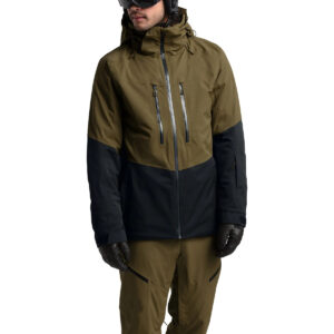 Men's Chakal Jacket Military Olive / TNF Black