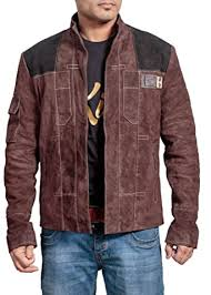 A Star Wars Story Distressed Leather Jacket