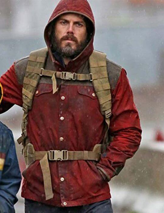 Light of My Life Casey Affleck Red Hoodie