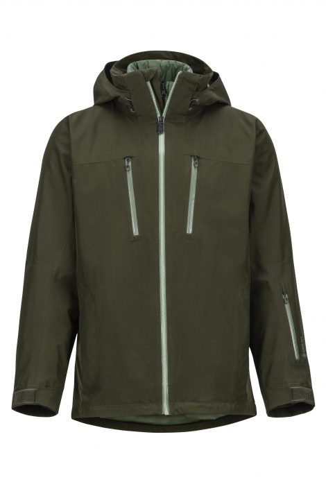 Men's Chakal Rosin Green Jacket