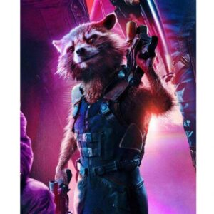Tactical Army Rocket Raccoon Vest
