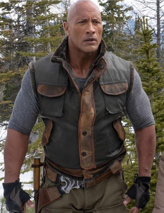 Jumanji The Next Level Spencer Leather Vest