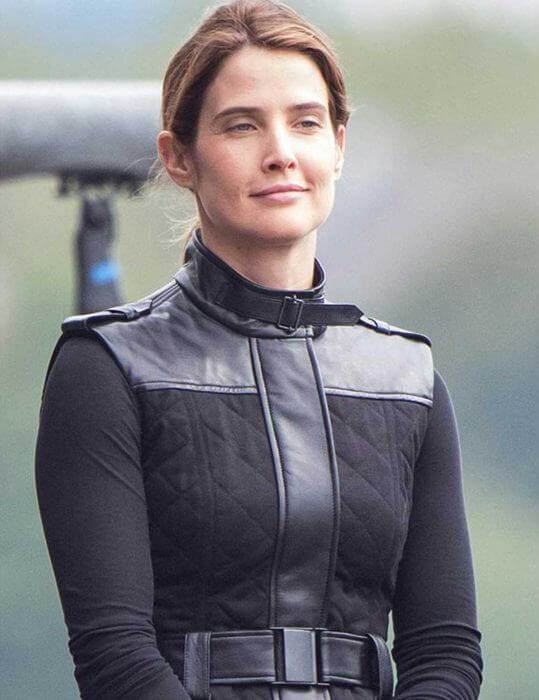 Spider-Man Far From Home Maria Hill Black Vest